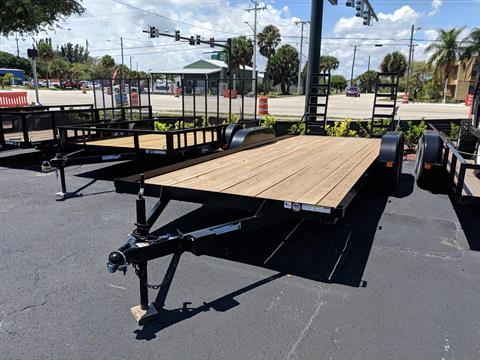 2019 Triple Crown 7X20 Equipment Trailer Swing Up Ramps in Fort Pierce, Florida