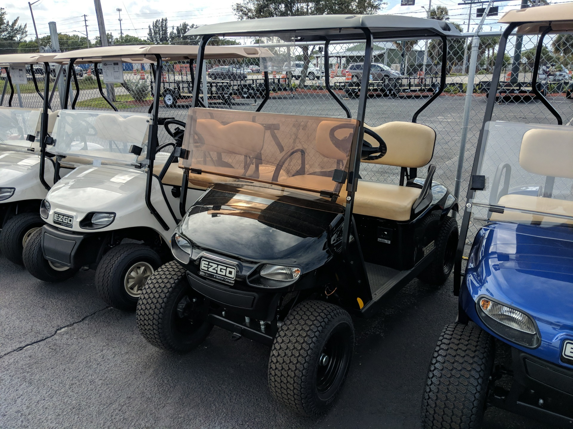 2019 E-Z-GO TXT Valor Gasoline in Fort Pierce, Florida - Photo 1