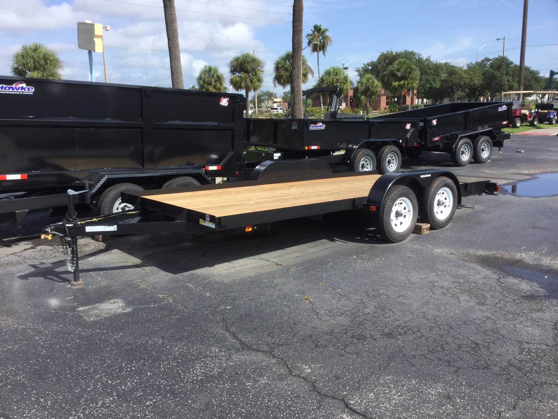 2019 Triple Crown 7X18 Equipment with Stowaway Ramps in Fort Pierce, Florida - Photo 2