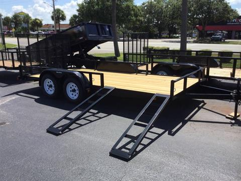 2018 Triple Crown 7X16 ATV in Fort Pierce, Florida