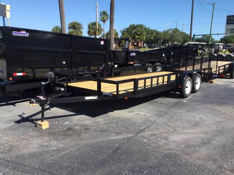 2018 Triple Crown 7X20 ATV Trailer in Fort Pierce, Florida