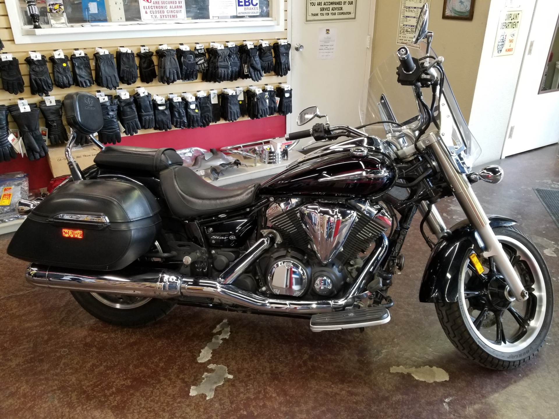 2013 Yamaha V Star 950 Tourer Motorcycles Highland California