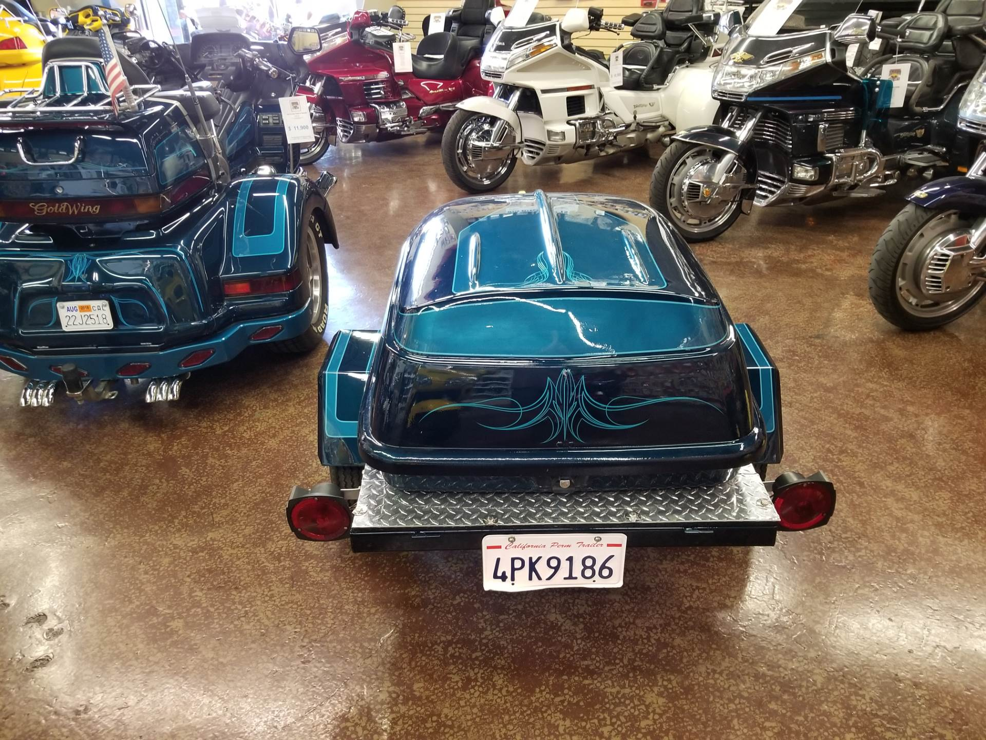 1994 Lehman Trikes/Honda GL1500 Trike & Trailer Pkg. in Highland, California