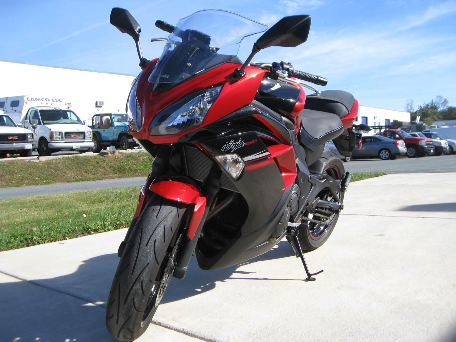 2016 Kawasaki Ninja 650 in Gaithersburg, Maryland