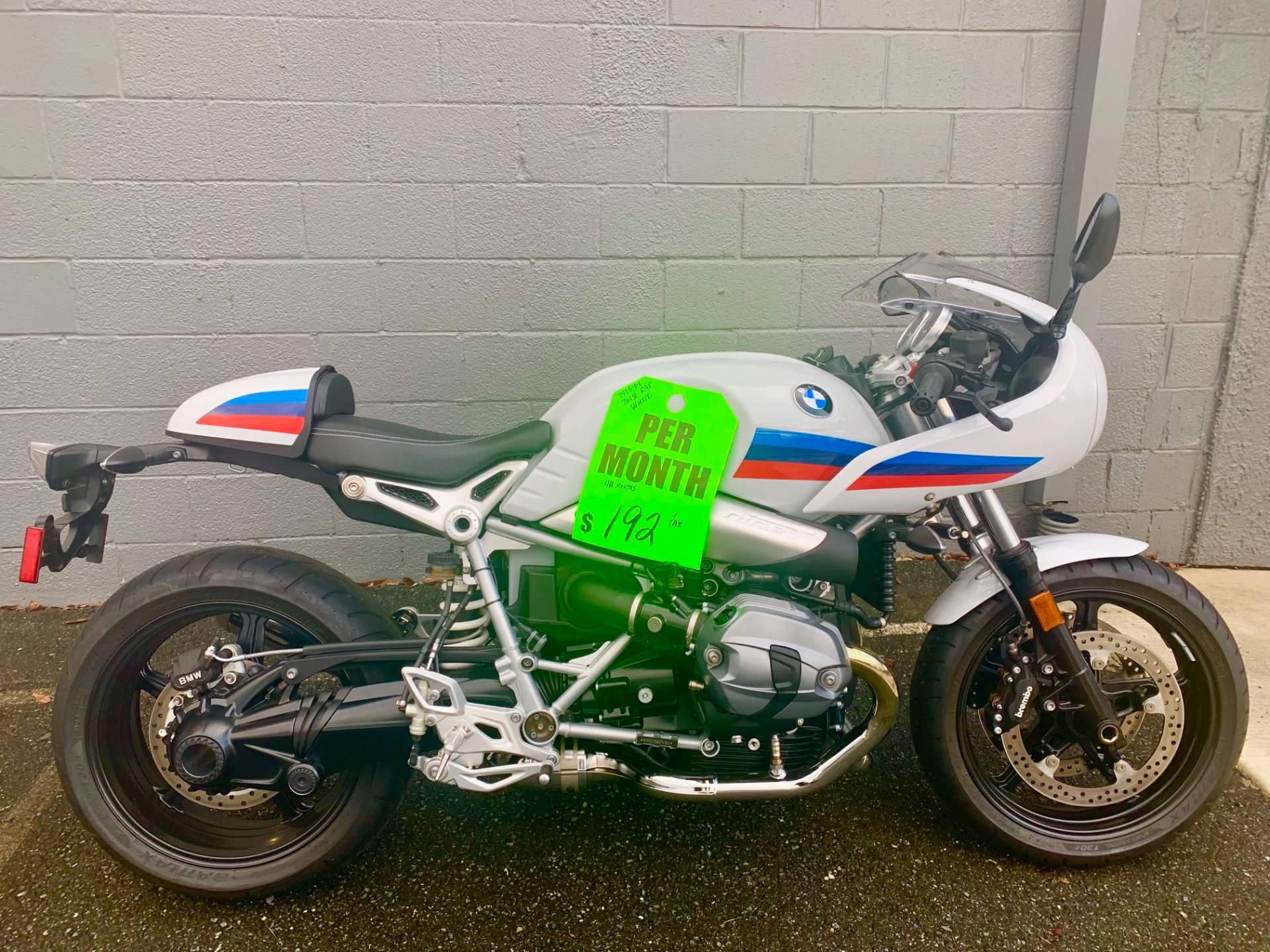 New 2018 Bmw R Ninet Racer Motorcycles In Gaithersburg Md