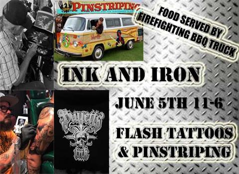 INK AND IRON EVENT
