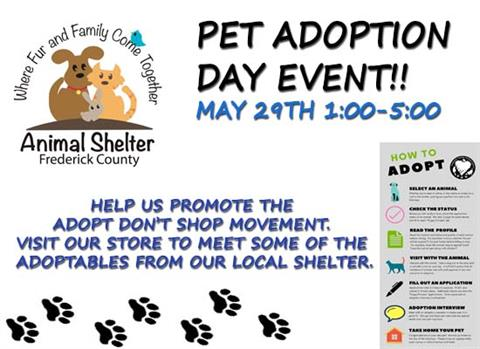 Pet adoption Day event!