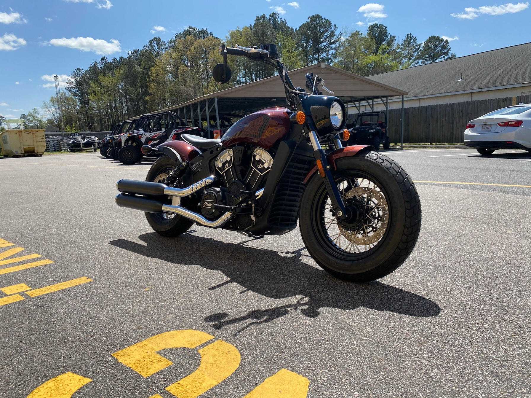 2020 Indian Scout® Bobber Twenty ABS in Chesapeake, Virginia - Photo 6