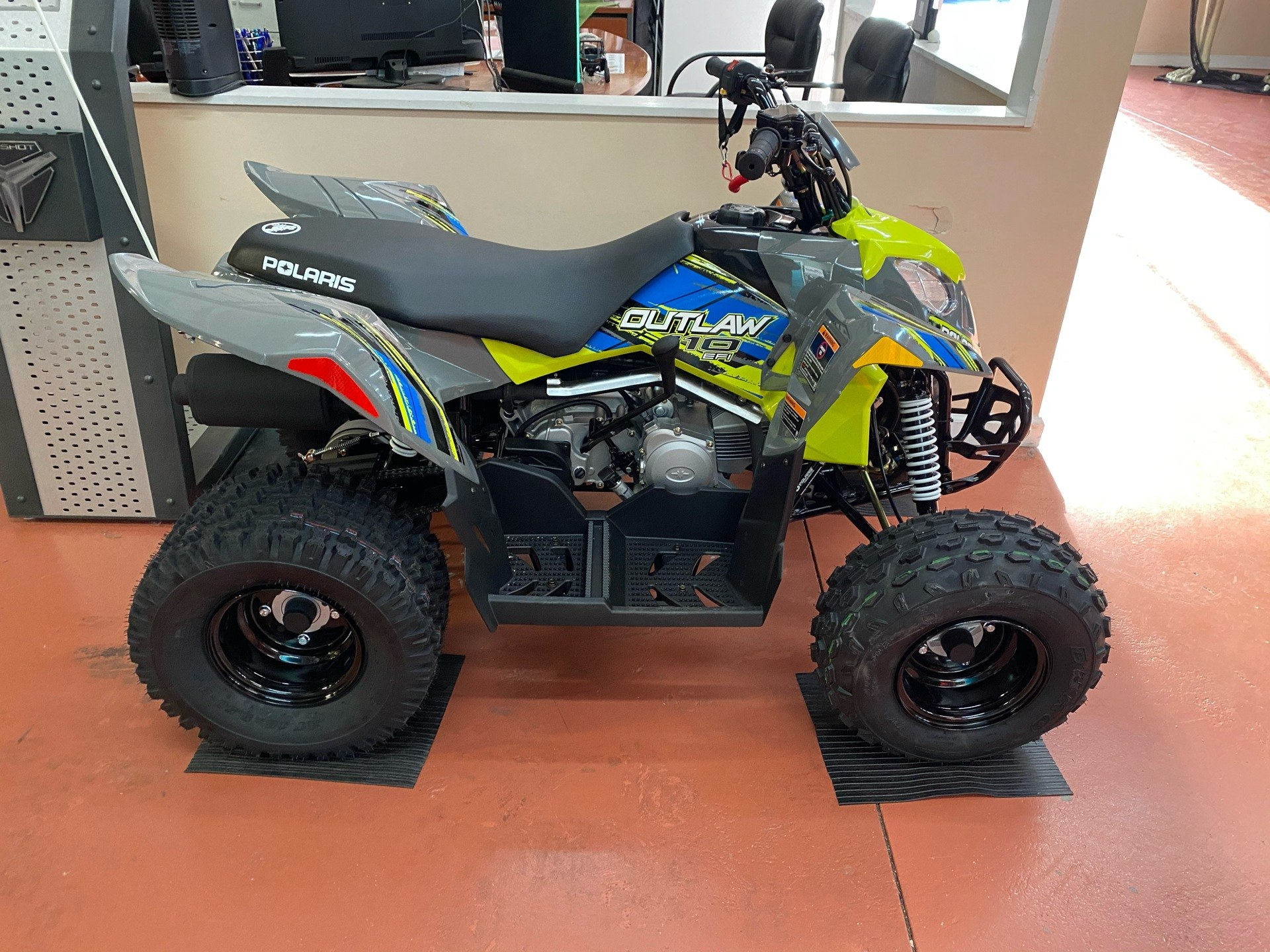 2021 Polaris Outlaw 110 EFI in Chesapeake, Virginia - Photo 3