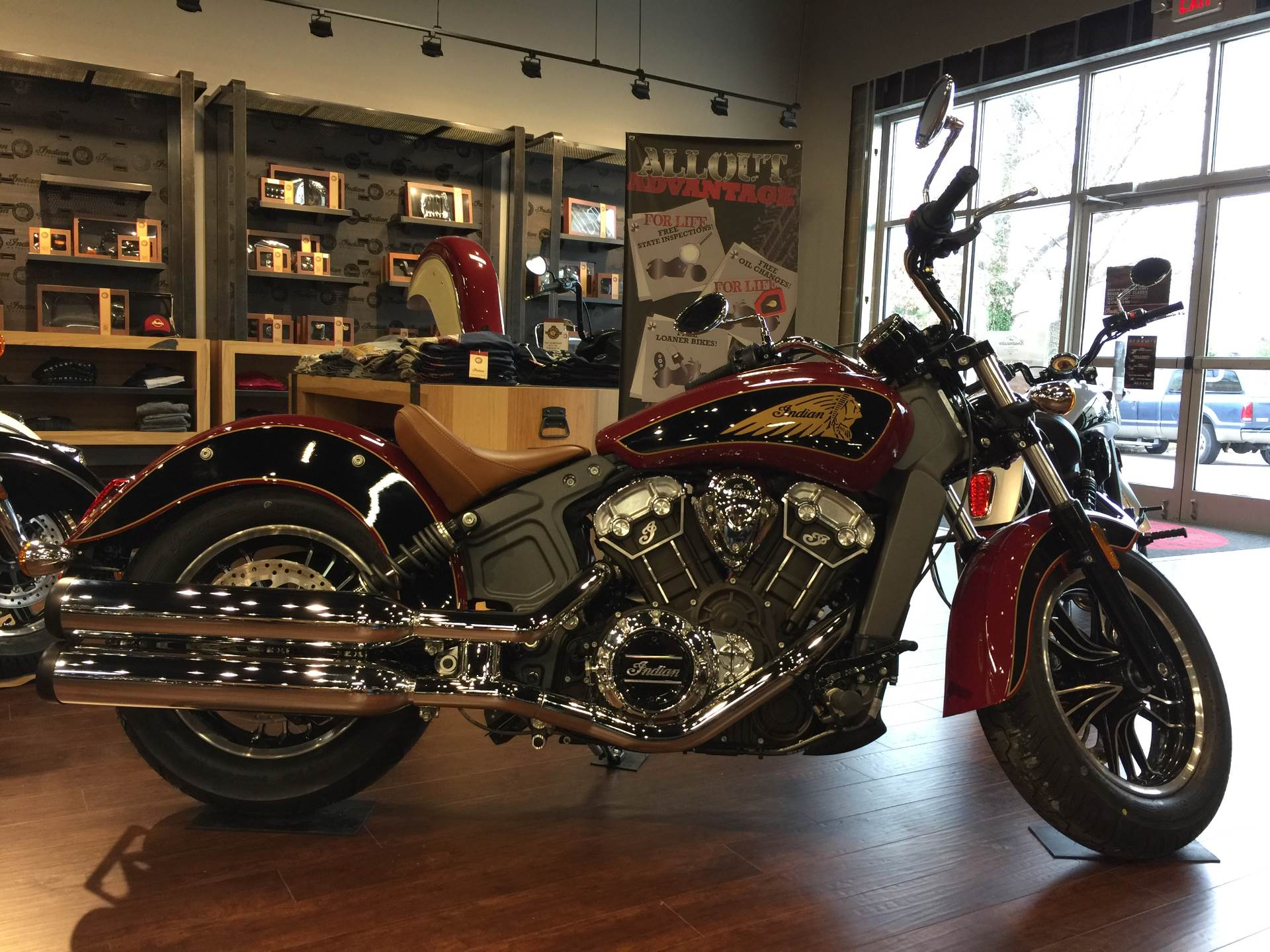 2017 Indian Scout ABS 1
