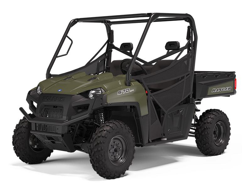 2021 Polaris Ranger 570 Full-Size in Chesapeake, Virginia - Photo 1