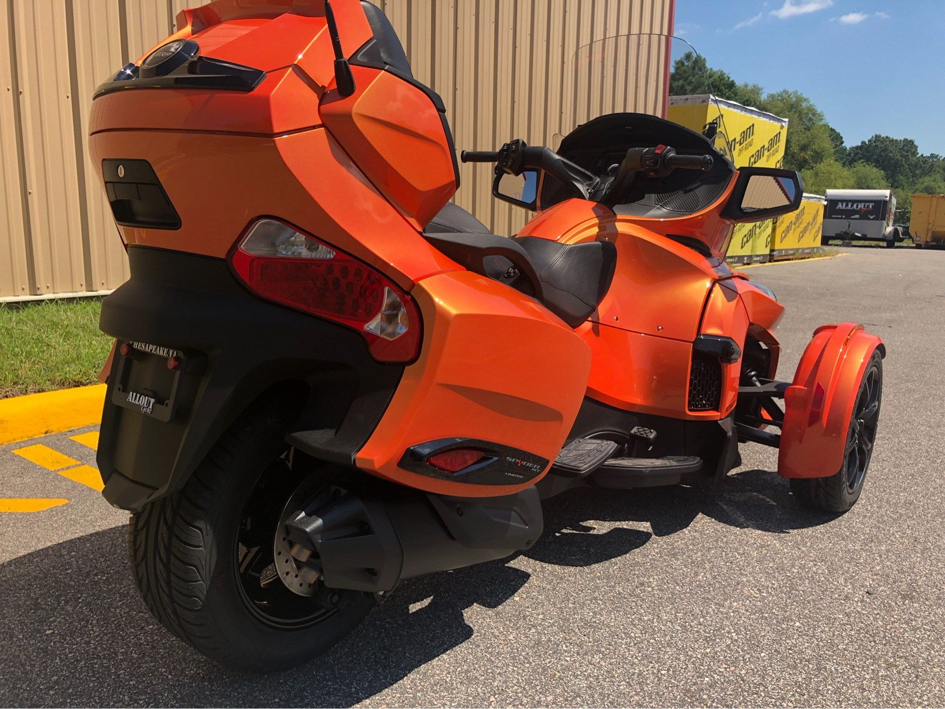 2019 Can-Am Spyder RT Limited in Chesapeake, Virginia - Photo 8