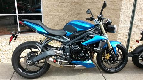 2013 Triumph Street Triple ABS in Chesapeake, Virginia