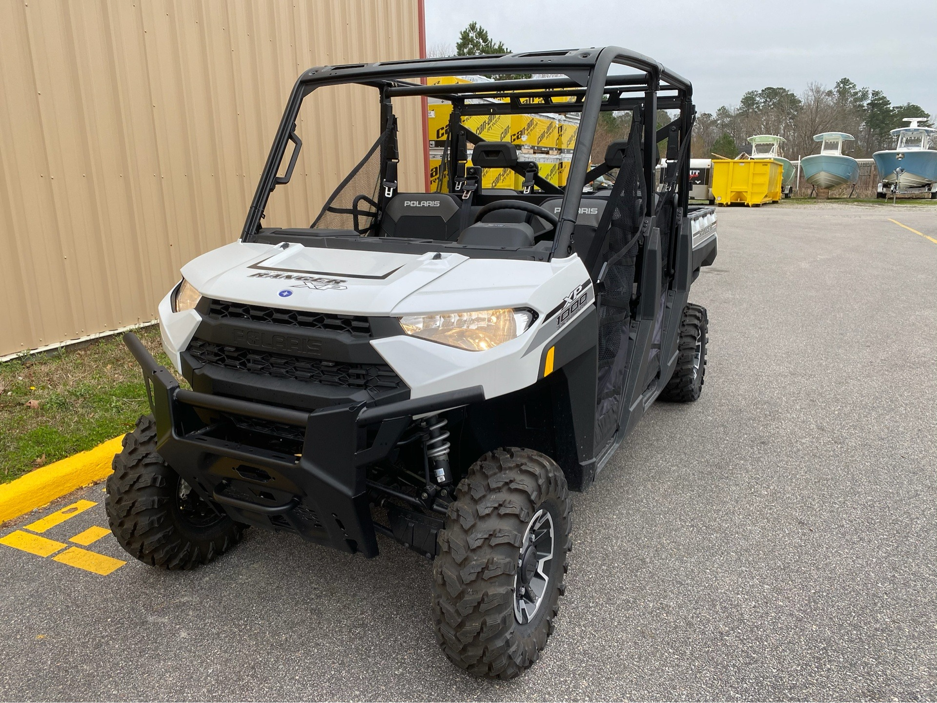 2019 Polaris Ranger Crew XP 1000 EPS Premium in Chesapeake, Virginia - Photo 1