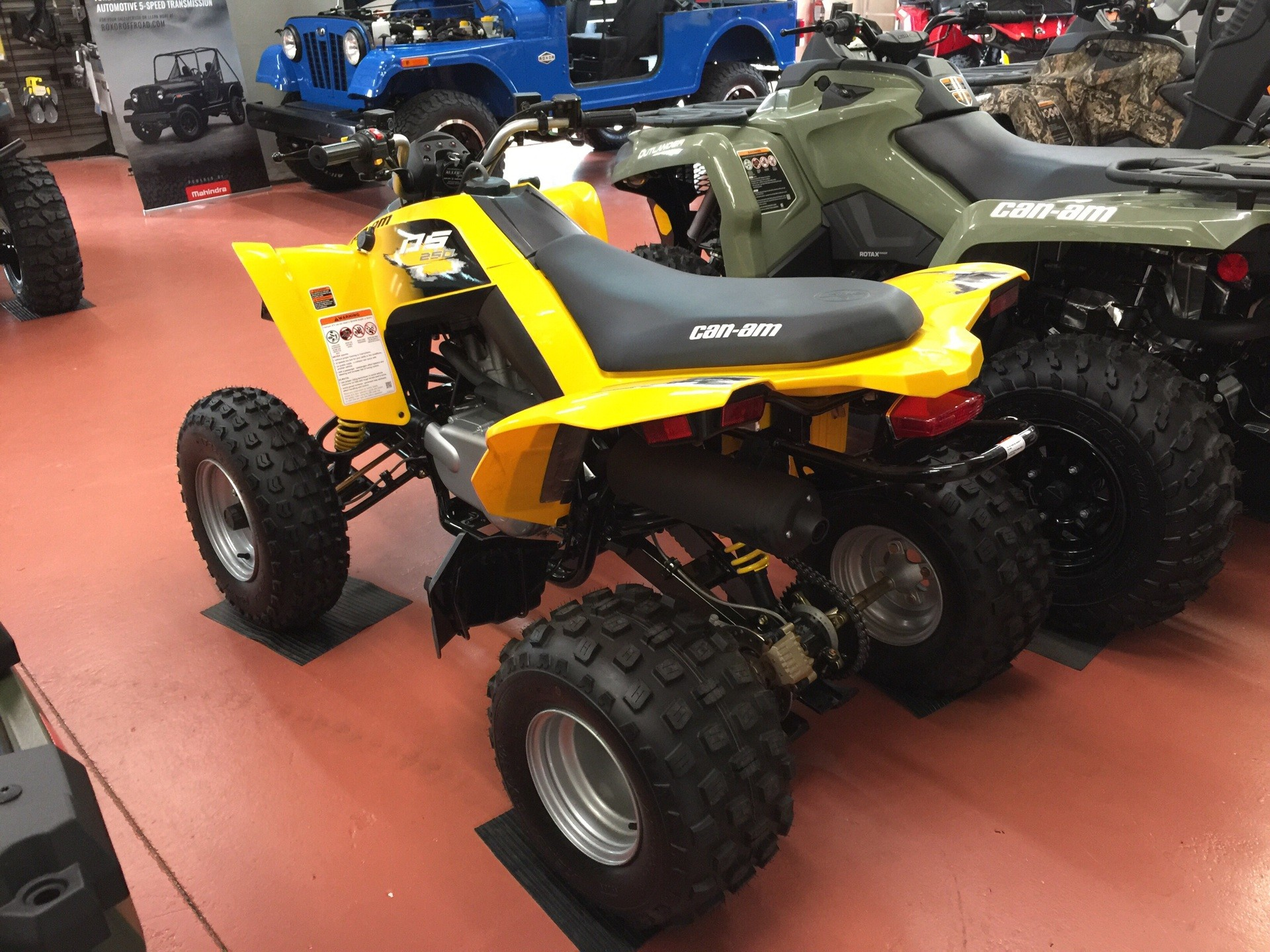 2019 Can-Am DS 250 in Chesapeake, Virginia - Photo 3