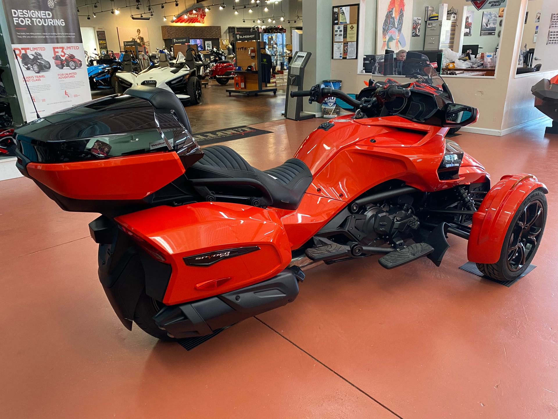 2021 Can-Am Spyder F3 Limited in Chesapeake, Virginia - Photo 4