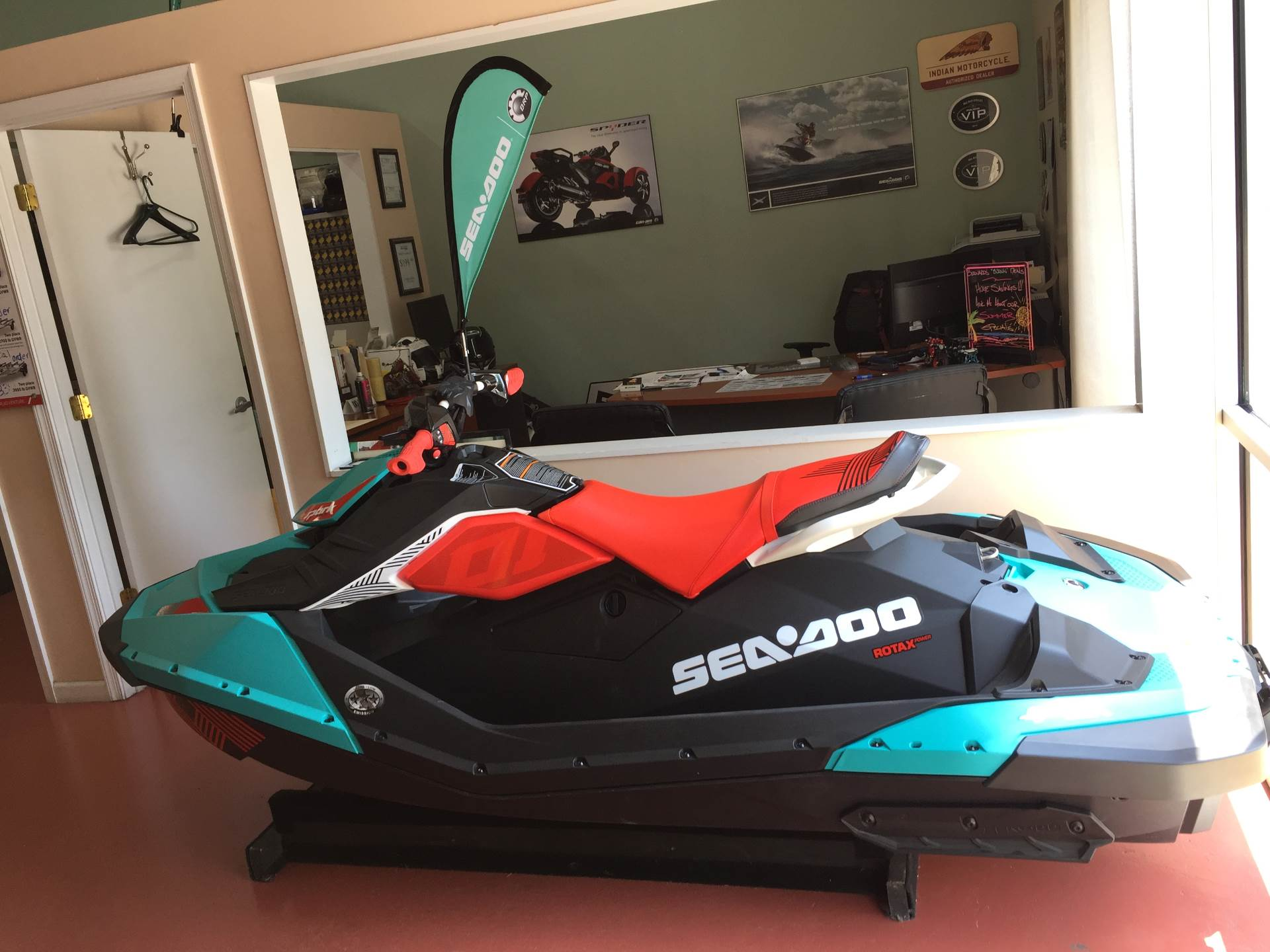 2018 Sea-Doo Spark 2up Trixx iBR in Chesapeake, Virginia - Photo 2