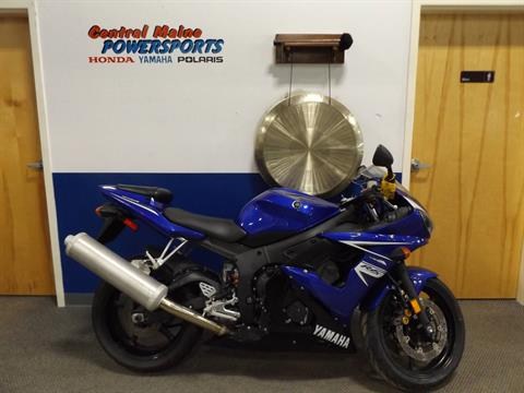 2009 Yamaha YZFR6S in Lewiston, Maine