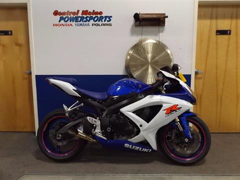 2008 Suzuki GSX-R600™ in Lewiston, Maine