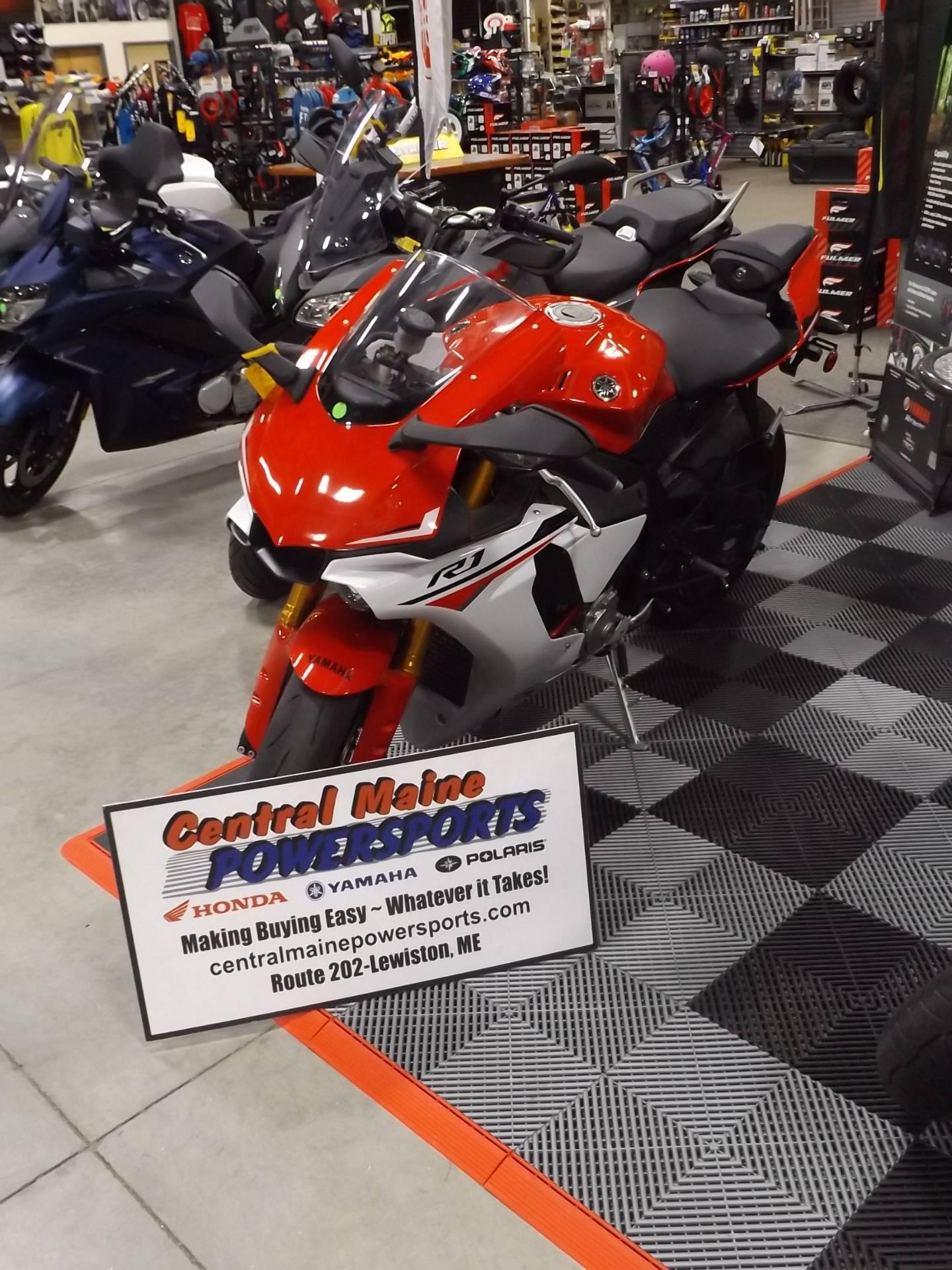 2015 Yamaha YZF-R1 in Lewiston, Maine