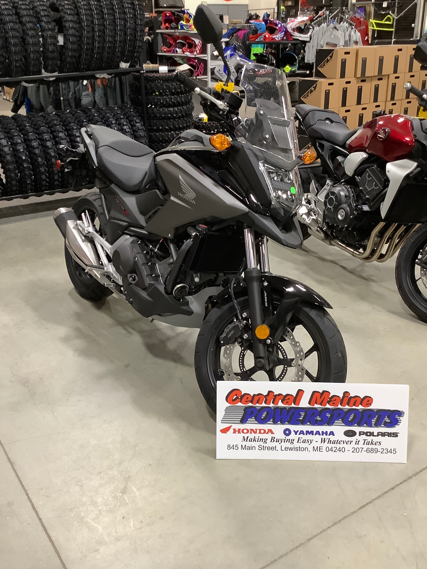 2020 Honda NC750X DCT ABS in Lewiston, Maine - Photo 1