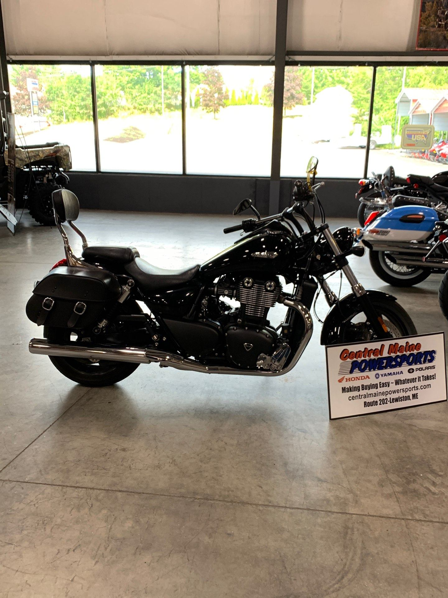 2014 Triumph Thunderbird Storm ABS in Lewiston, Maine - Photo 1