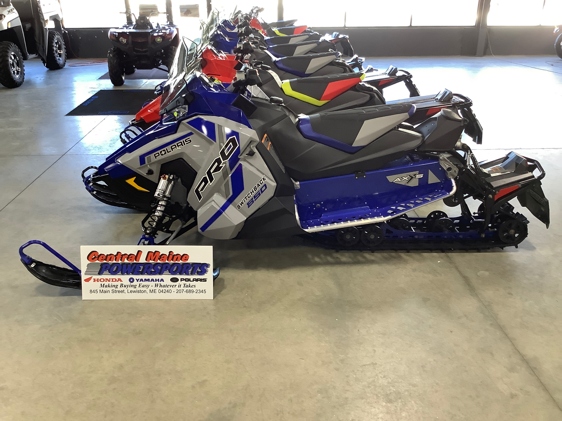 2021 Polaris 850 Switchback PRO-S Factory Choice in Lewiston, Maine - Photo 1
