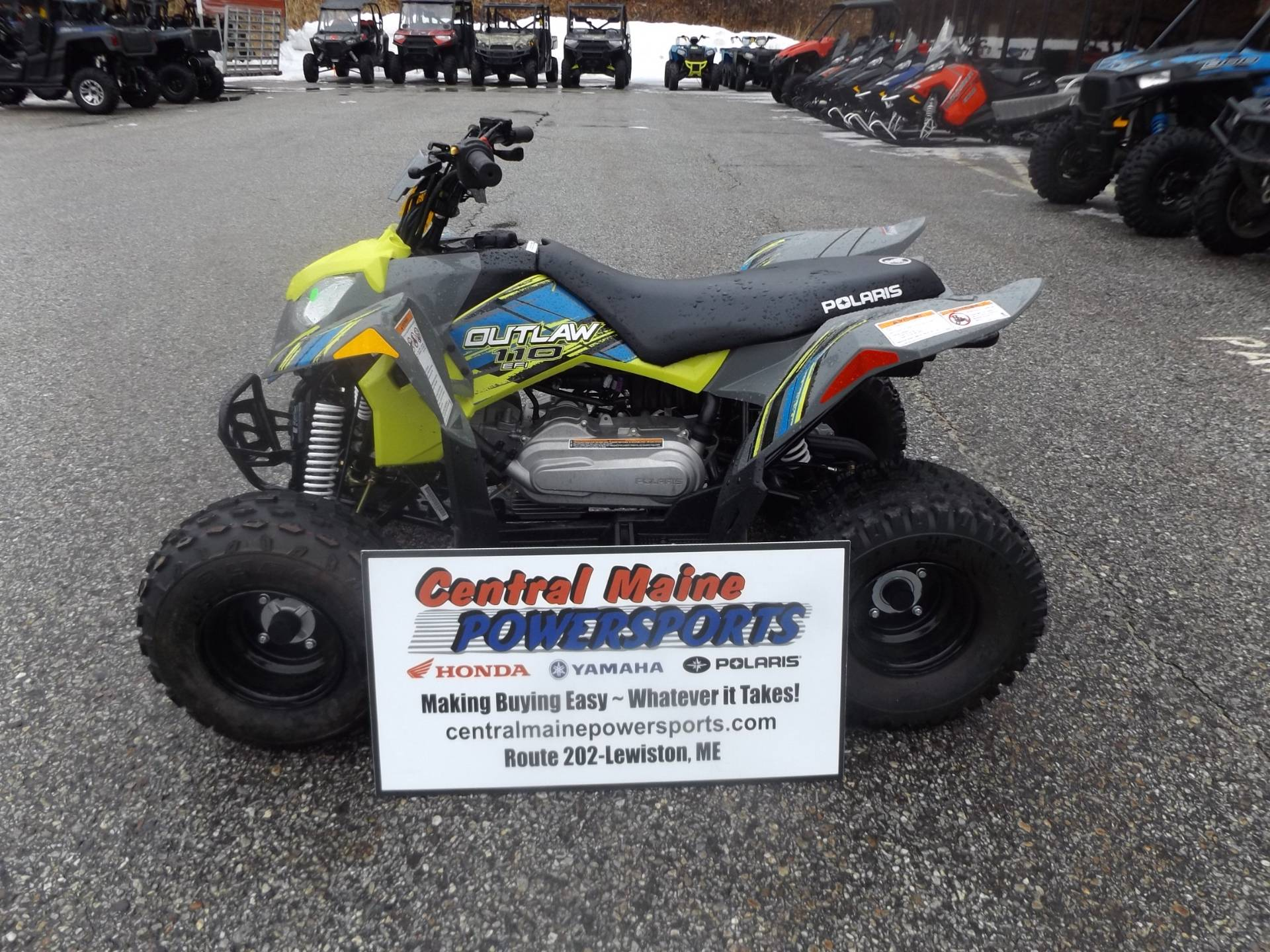 2017 Polaris Outlaw 110 in Lewiston, Maine