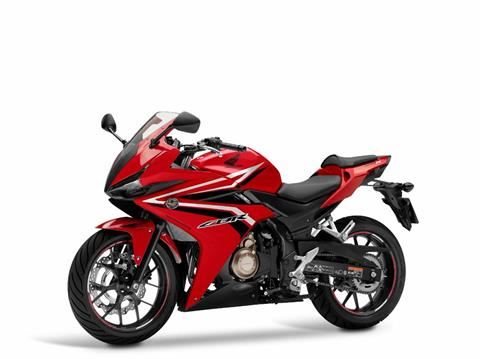 2017 Honda CBR500R in Lewiston, Maine