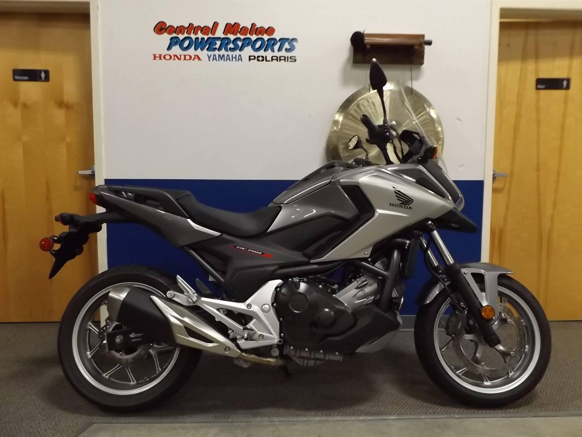 Used 2016 Honda Nc700x Motorcycles In Lewiston Me