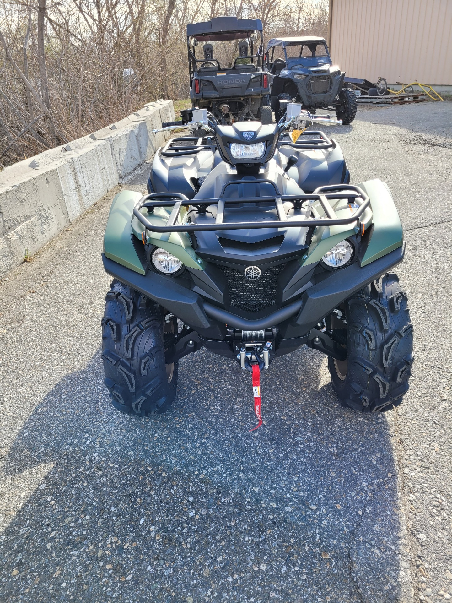 2021 Yamaha Grizzly EPS XT-R in Lewiston, Maine - Photo 2