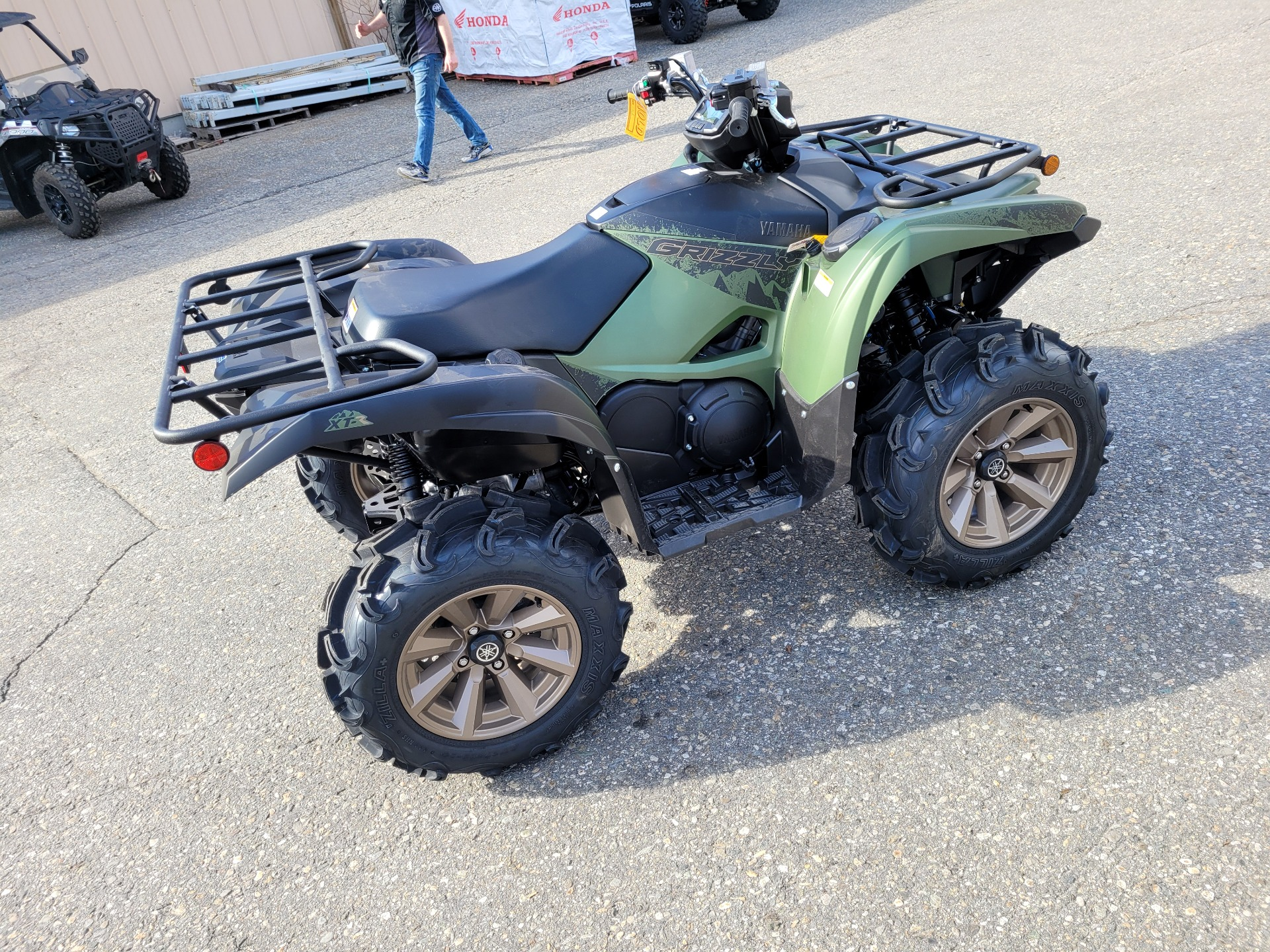 2021 Yamaha Grizzly EPS XT-R in Lewiston, Maine - Photo 3