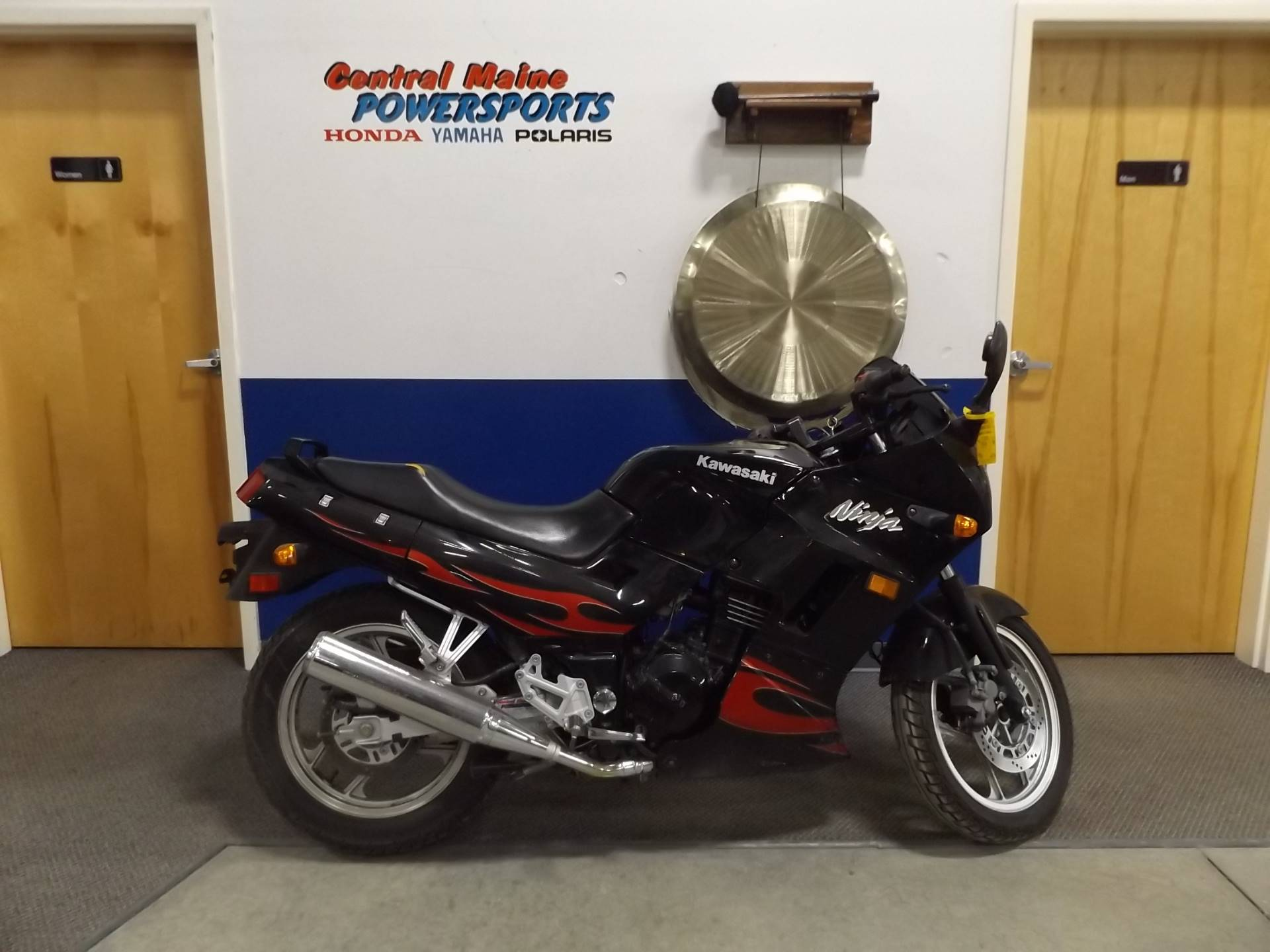 Used 2007 Kawasaki Ninja 250r Motorcycles In Lewiston Me Black