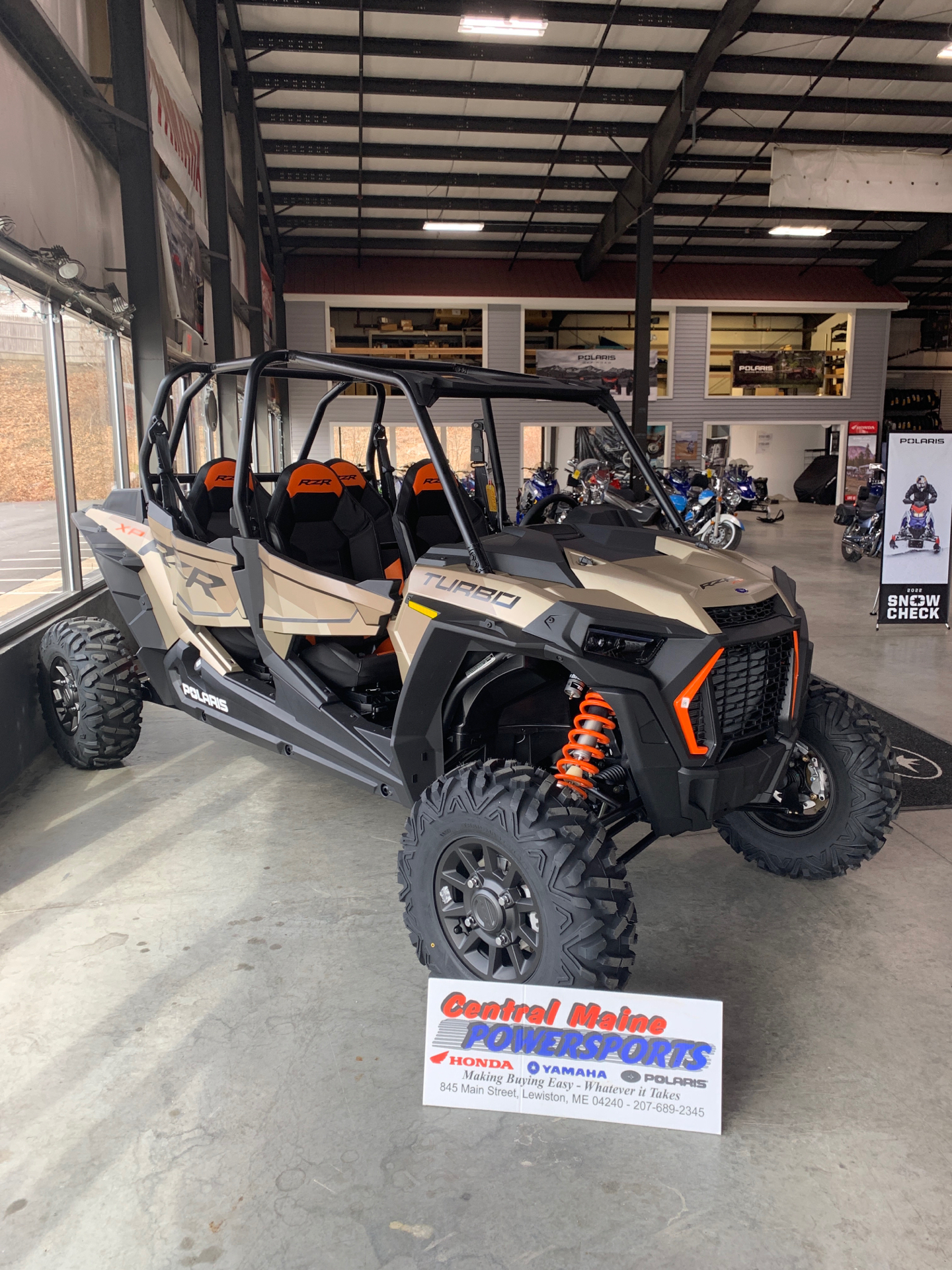 2021 Polaris RZR XP 4 Turbo in Lewiston, Maine - Photo 1