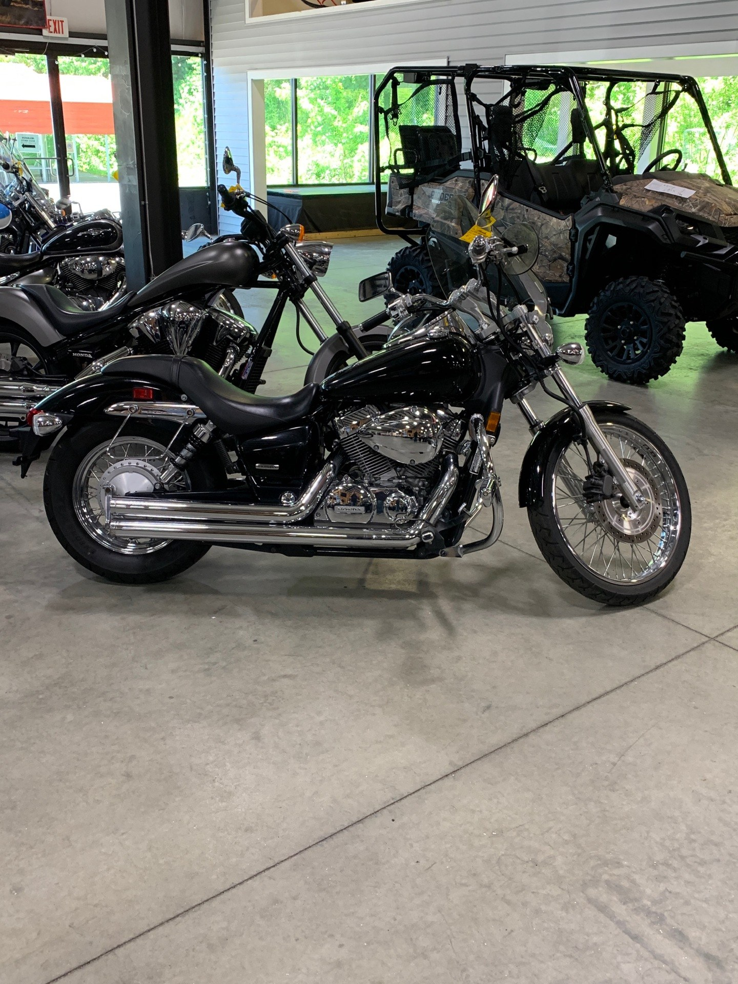 2009 Honda Shadow Spirit 750 in Lewiston, Maine - Photo 2