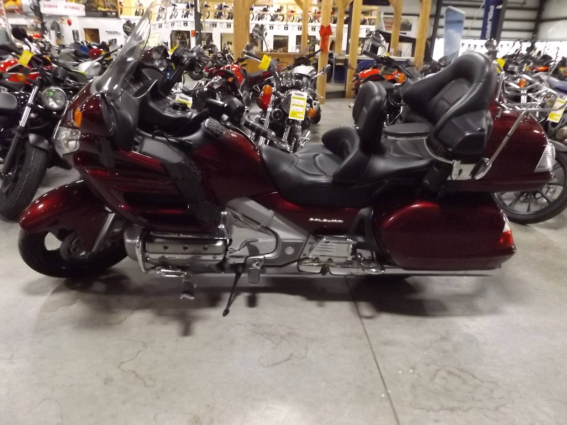 2009 Honda Gold Wing® Audio Comfort Navi XM in Lewiston, Maine