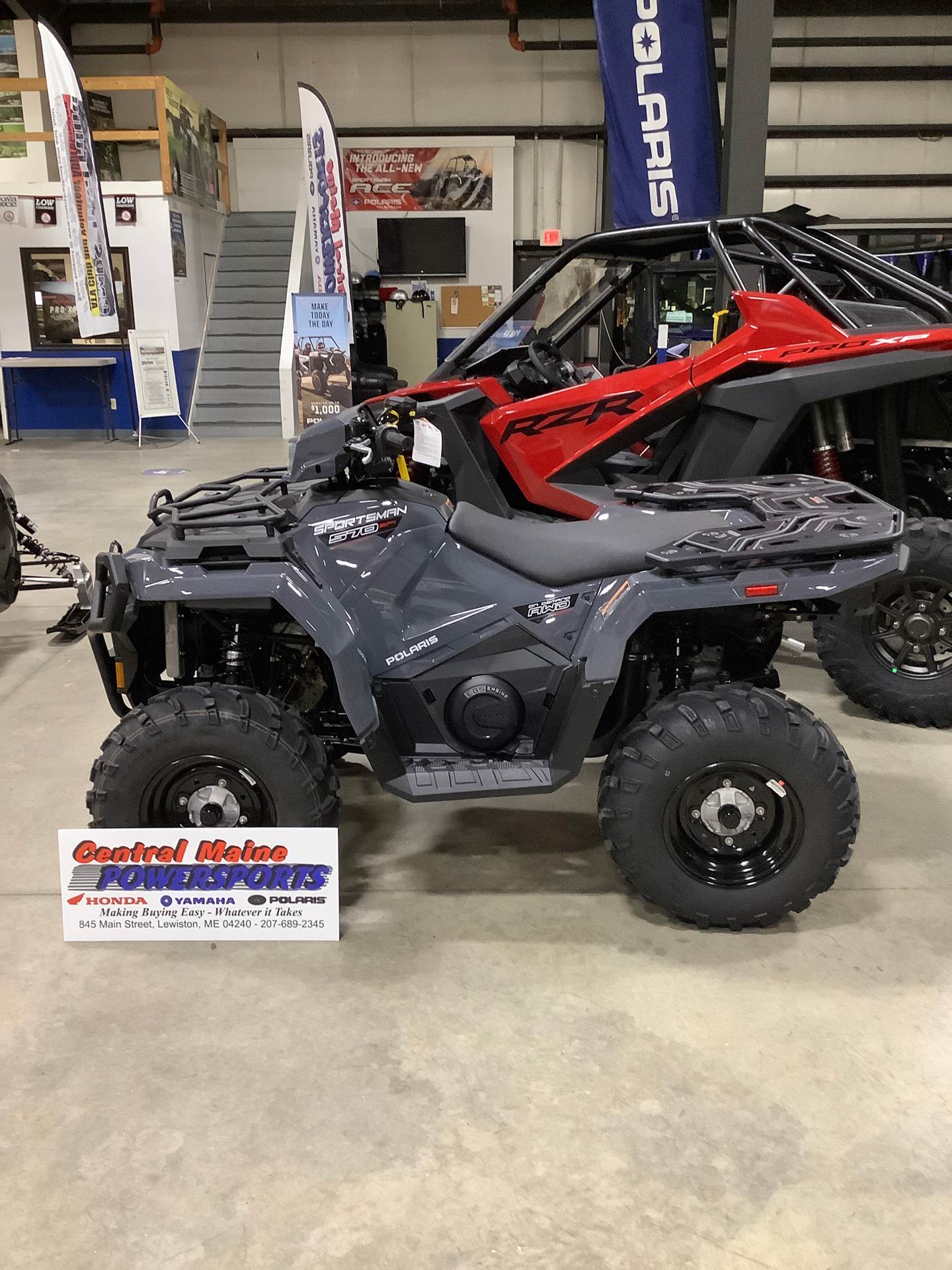 2021 Polaris Sportsman 570 Utility HD Limited Edition in Lewiston, Maine - Photo 1