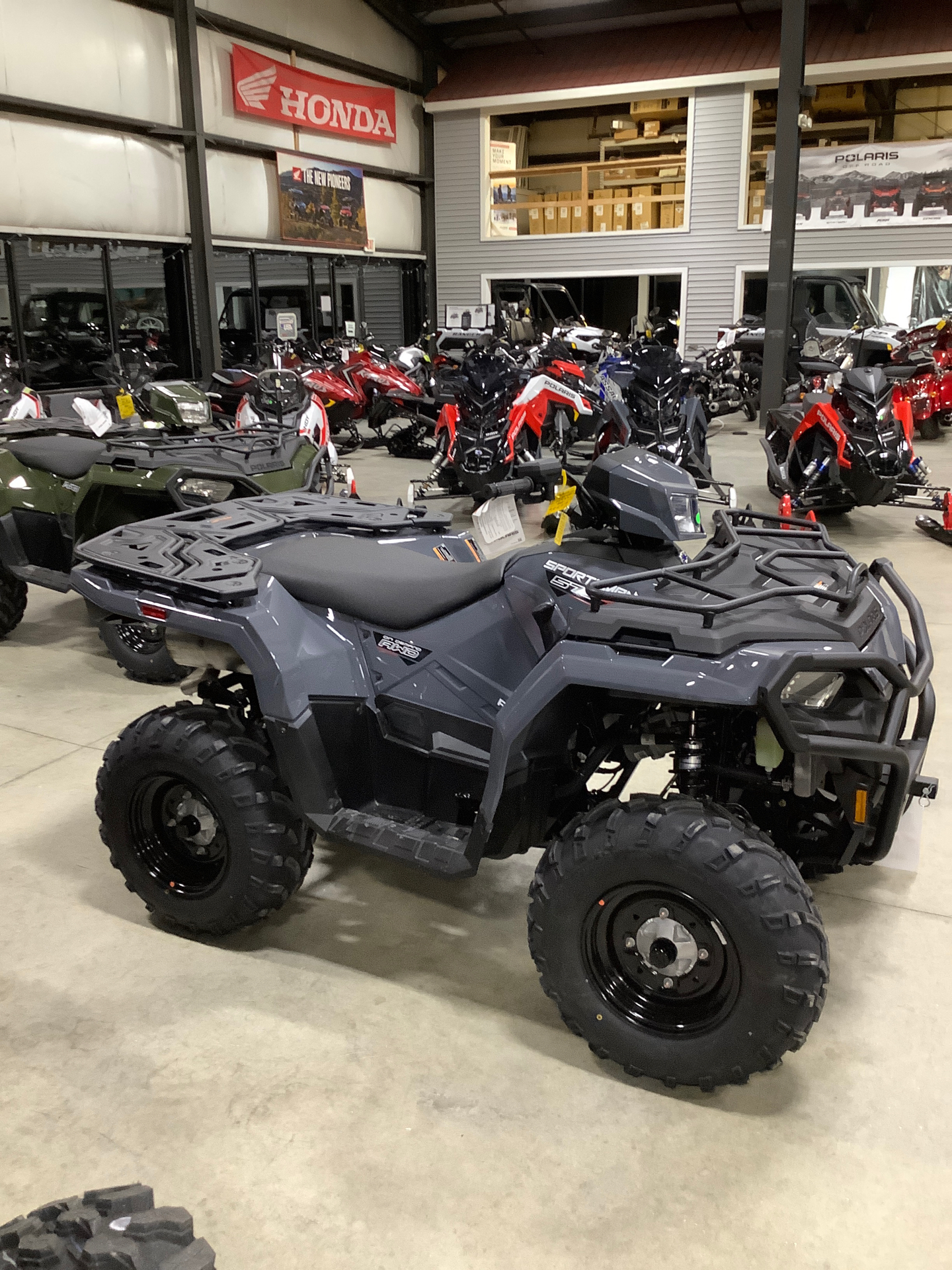 2021 Polaris Sportsman 570 Utility HD Limited Edition in Lewiston, Maine - Photo 3