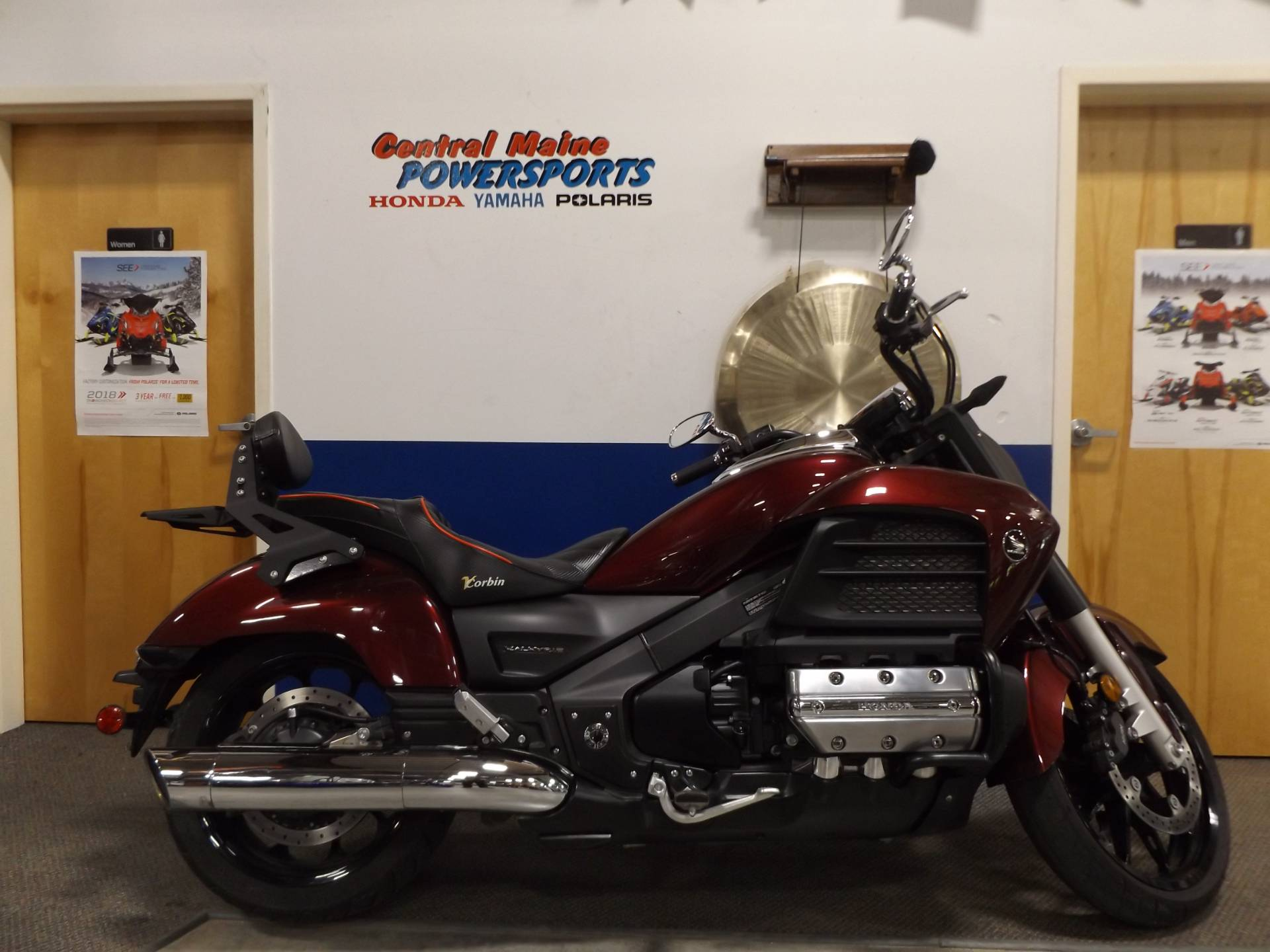 2014 Honda Gold Wing® Valkyrie® in Lewiston, Maine