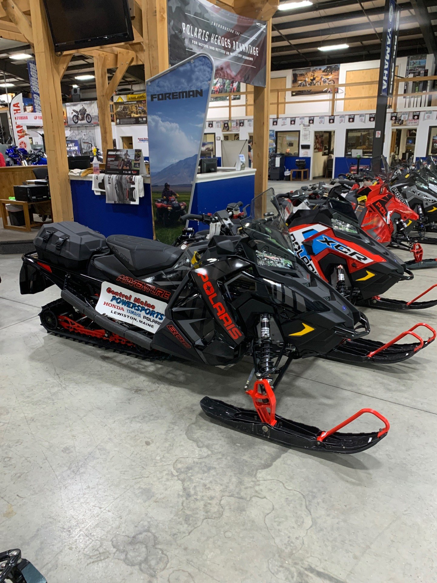 2020 Polaris 800 Indy Adventure 137 SC in Lewiston, Maine - Photo 1