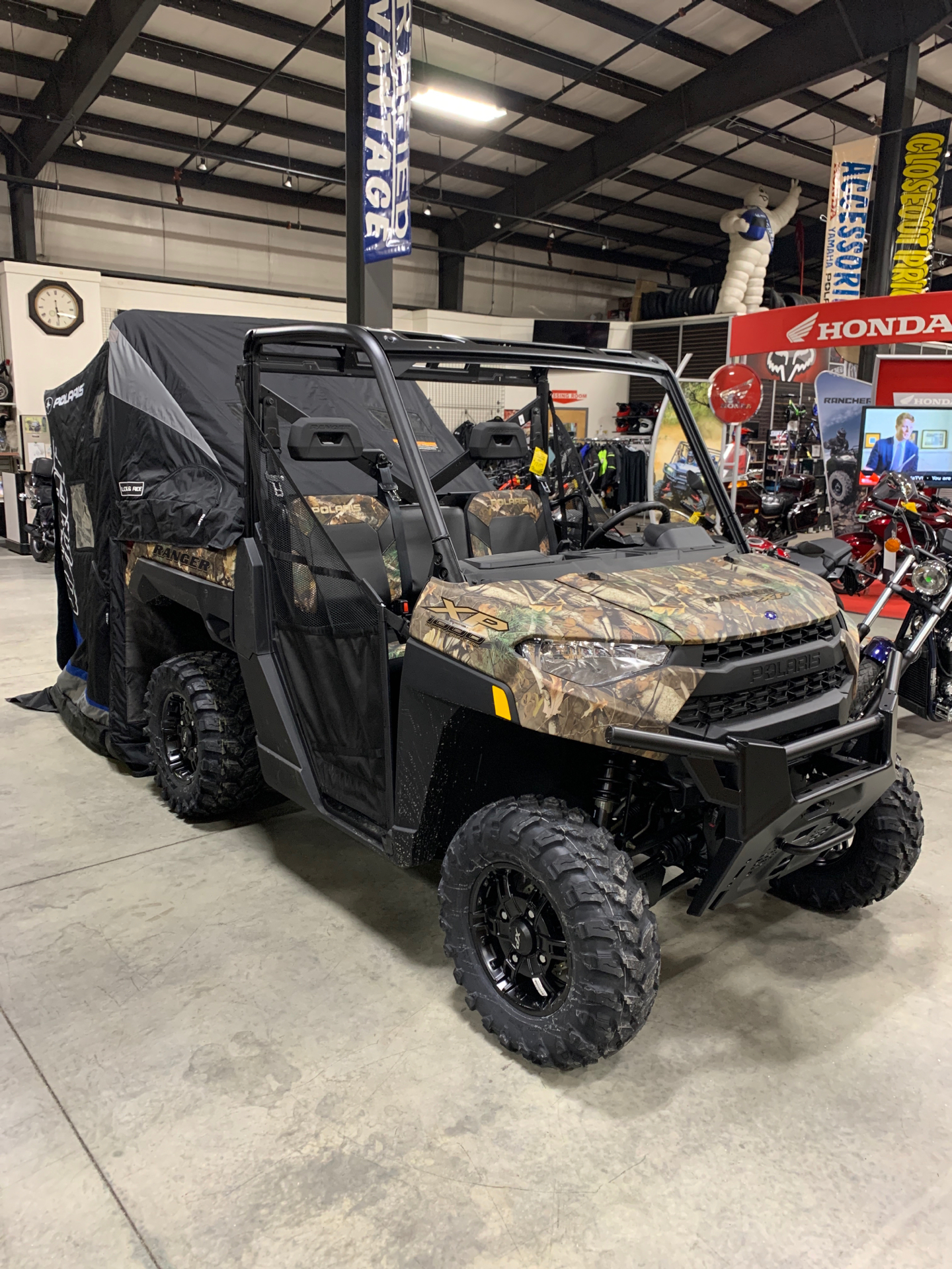 2021 Polaris Ranger XP 1000 Premium in Lewiston, Maine - Photo 3