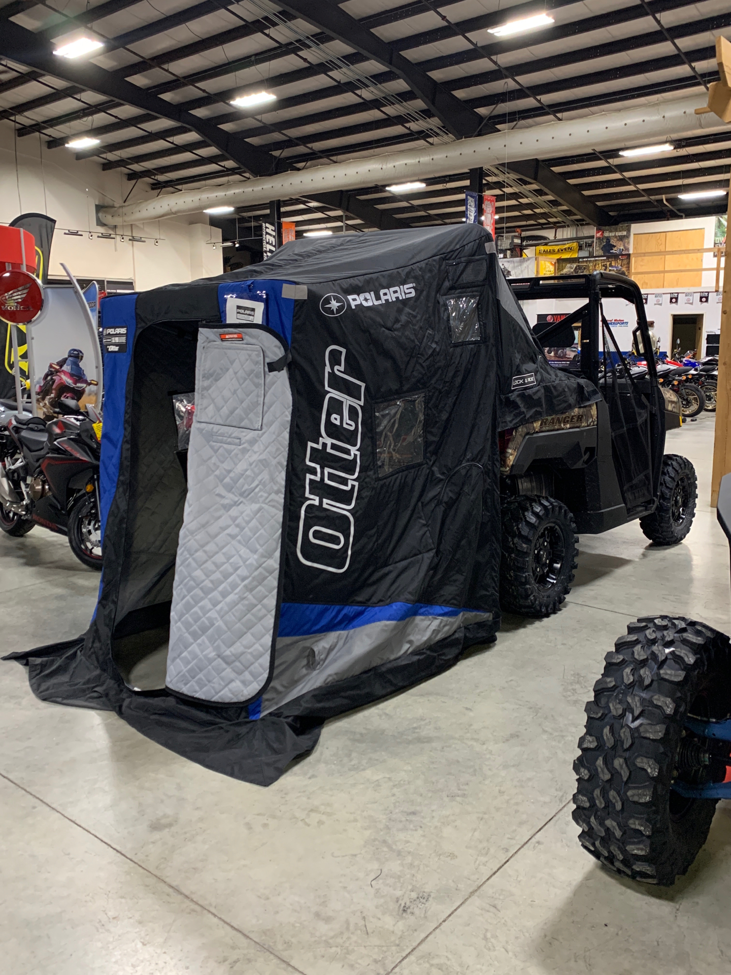 2021 Polaris Ranger XP 1000 Premium in Lewiston, Maine - Photo 4