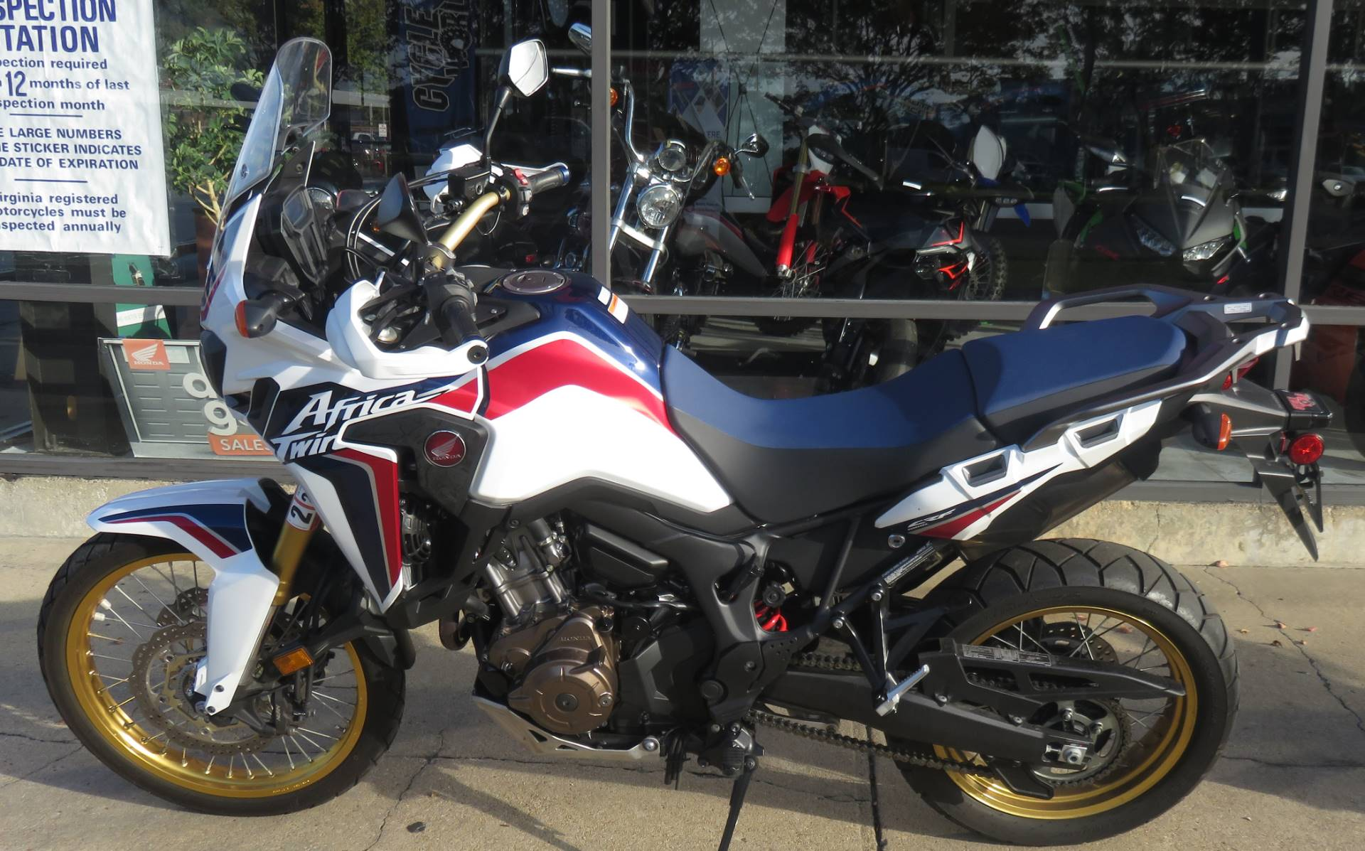 2017 Honda Africa Twin DCT in Virginia Beach, Virginia - Photo 1