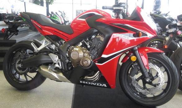 2018 Honda CBR650F ABS in Virginia Beach, Virginia - Photo 1