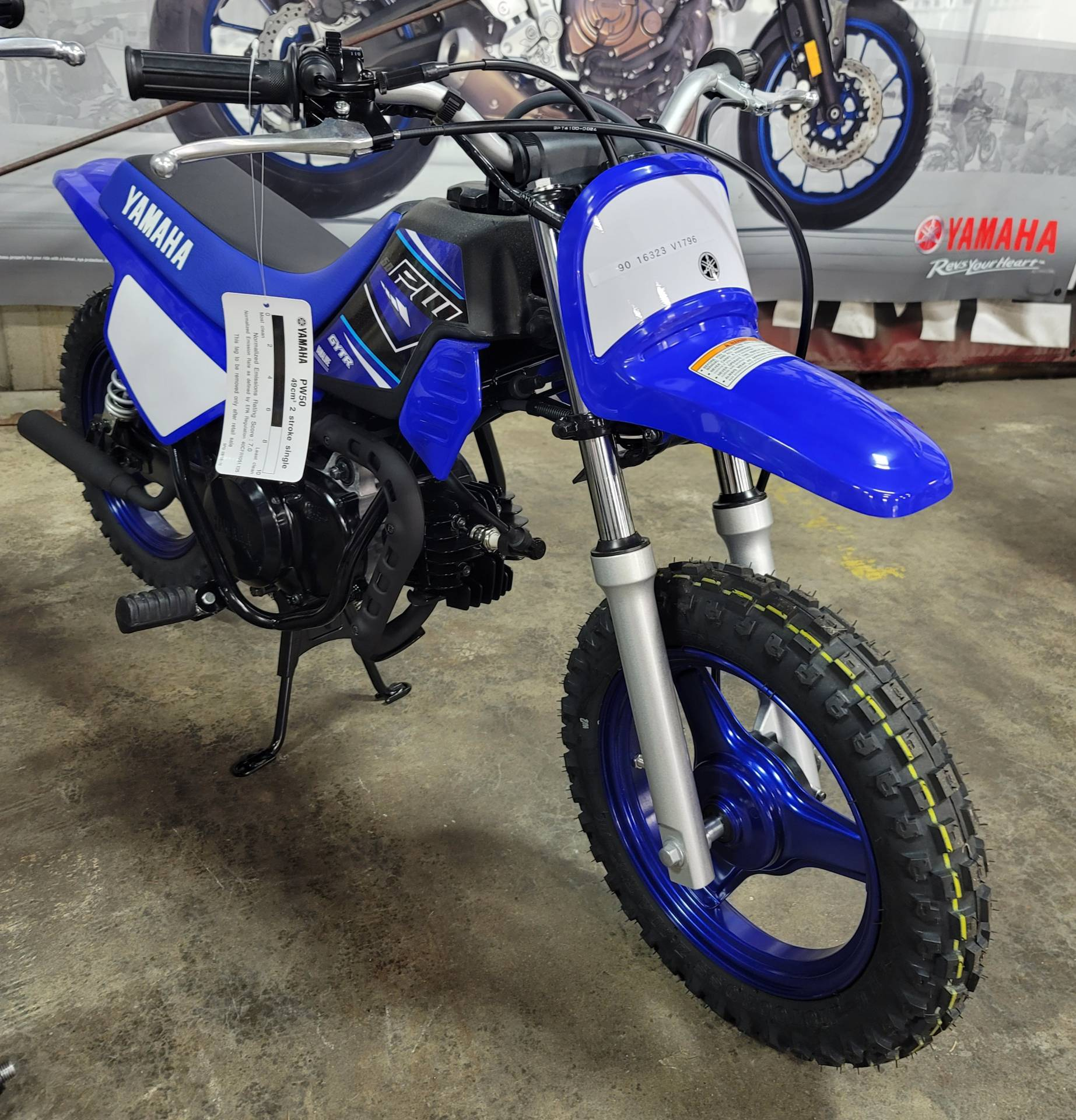 2021 Yamaha PW50 in Virginia Beach, Virginia - Photo 1