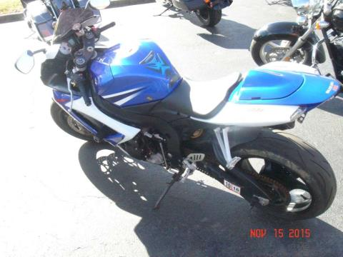 2007 Suzuki GSX-R750™ in Virginia Beach, Virginia