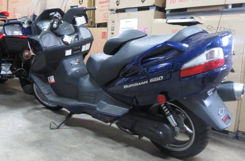 2005 Suzuki Bergman 650 in Virginia Beach, Virginia