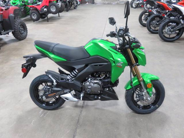 2017 Kawasaki Z125 Pro in Virginia Beach, Virginia - Photo 1