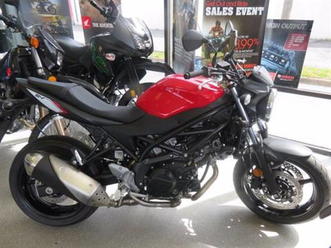 2017 Suzuki SV 650 in Virginia Beach, Virginia