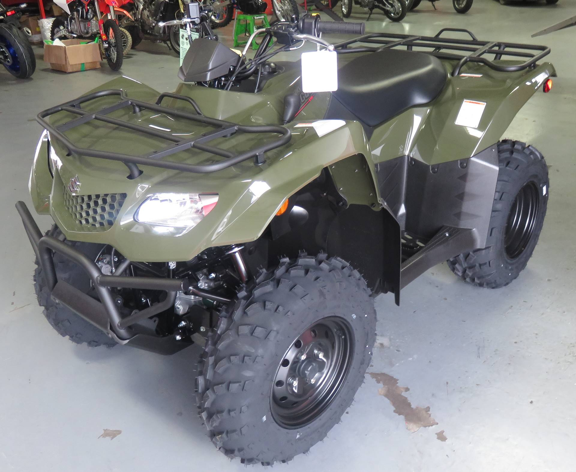 2019 Suzuki KingQuad 400ASi in Virginia Beach, Virginia - Photo 1